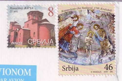 Serbia Stamp
