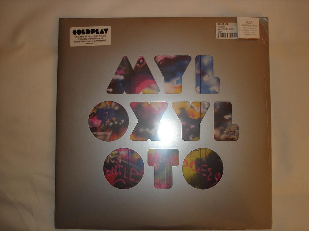 Vinilo De Coldplay Myl Oxyl Oto Disco De Vinilo Nuevo Y