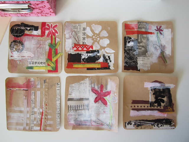 Chinese Idea - collage studies