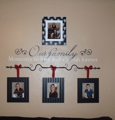 Our family wall saying