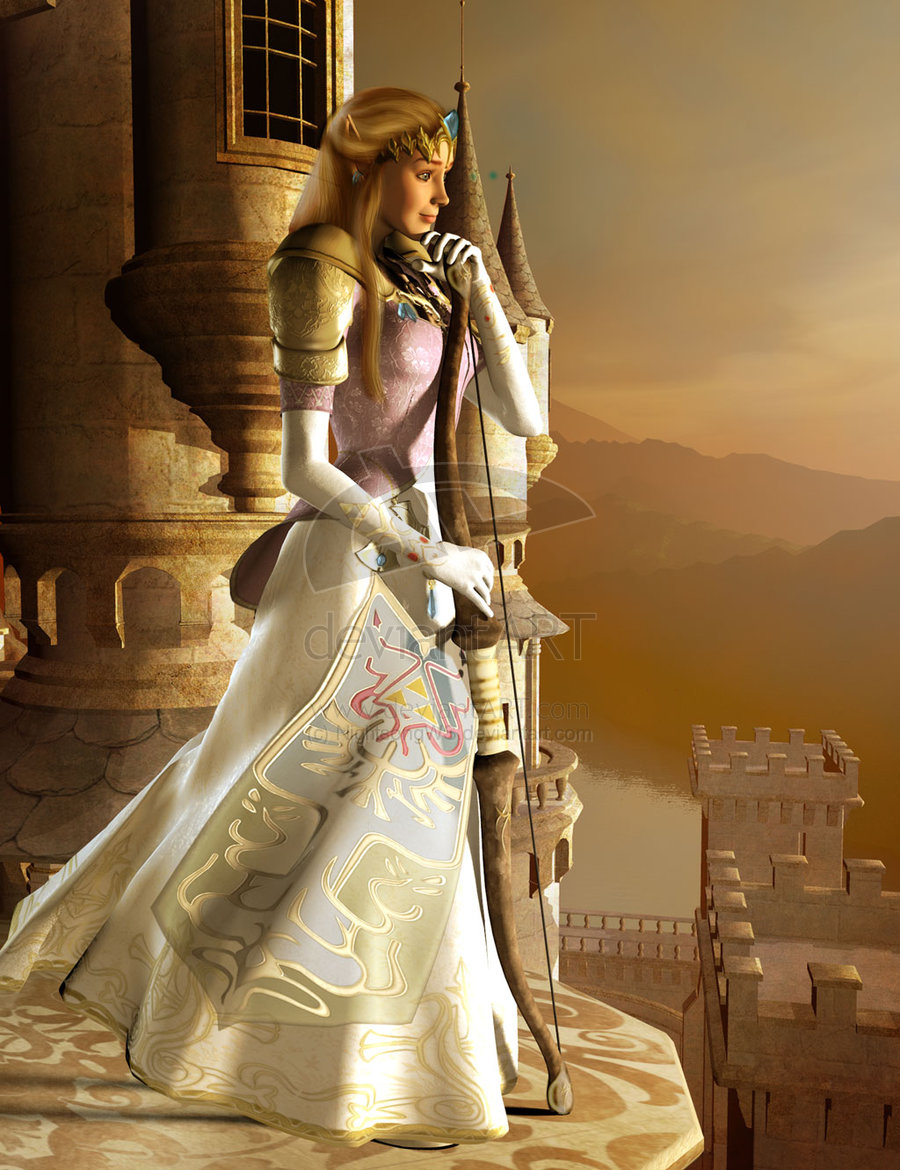 Princesa Zelda (obra de M.K.Williams)