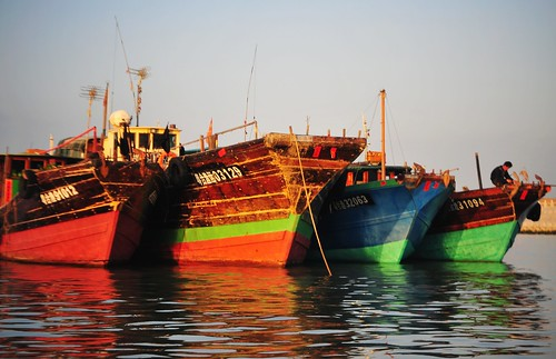 Fishing boats 漁船