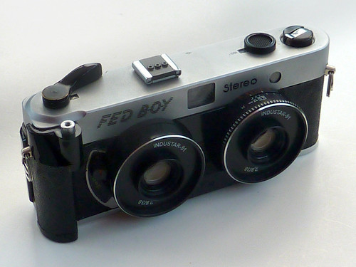 FED BOY stereo camera by pho-Tony