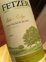 2010 Fetzer Echo Ridge Sauvignon Blanc
