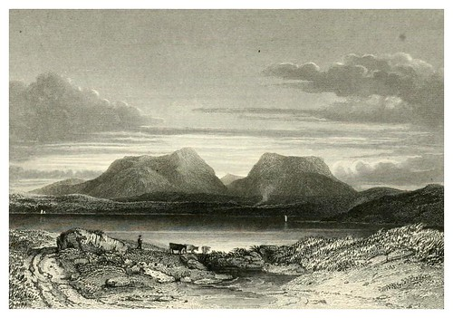 007-Hill of Hoy-Pirate-Finden's landscape illustrations of the Waverley novels.. 1834-varios artistas