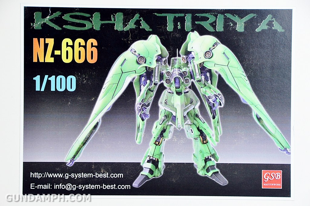 New Haul: 1/100 Kshatriya Resin Kit | Unboxing | Photos | Gundam
