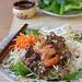 Bún tôm thịt nướng (Vietnamese rice vermicelli with grilled pork & shrimps)