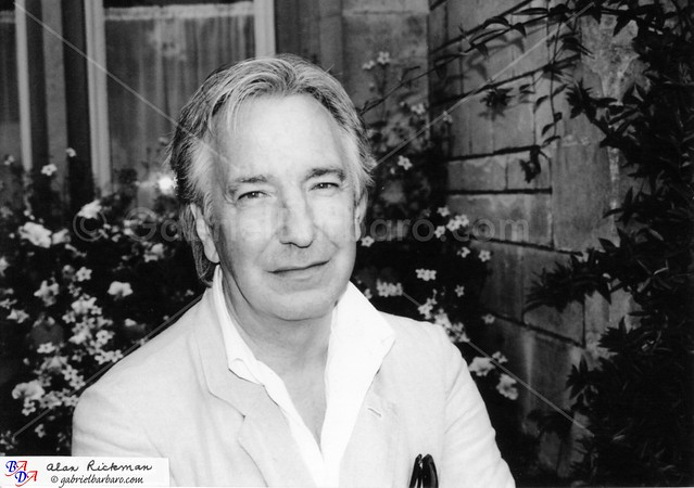 Alan Rickman BADA Oxford Program 2004