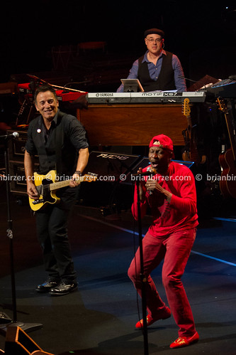 Bruce Springsteen and Jimmy Cliff