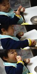 晩御飯とらちゃん(2012/3/16)