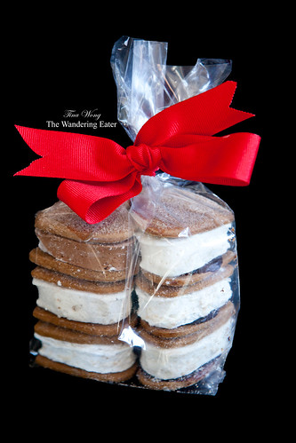 Bag of heart-shaped s'mores (various flavors)