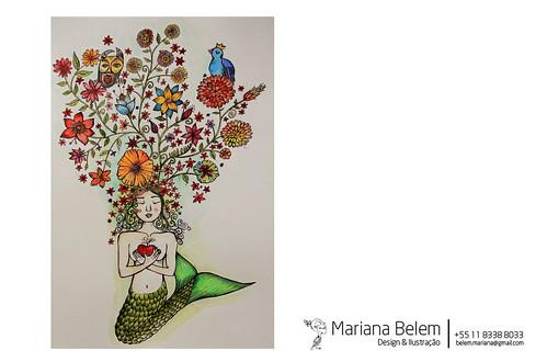 :: Sereia by mariana.belem