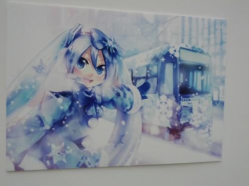 KEI-san's miku exhibit