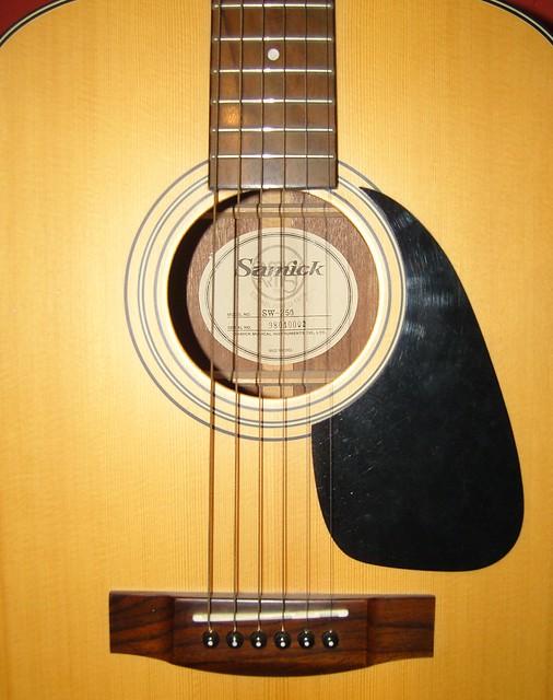 Photo:Samick SW-250 Acoustic Guitar By GorissM