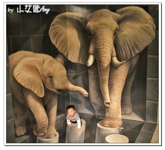 [3D展]高雄駁二藝術特區奇幻不思議日本3D幻視藝術畫展IMG_8077