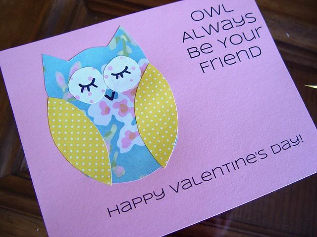 Owl Valentine 9