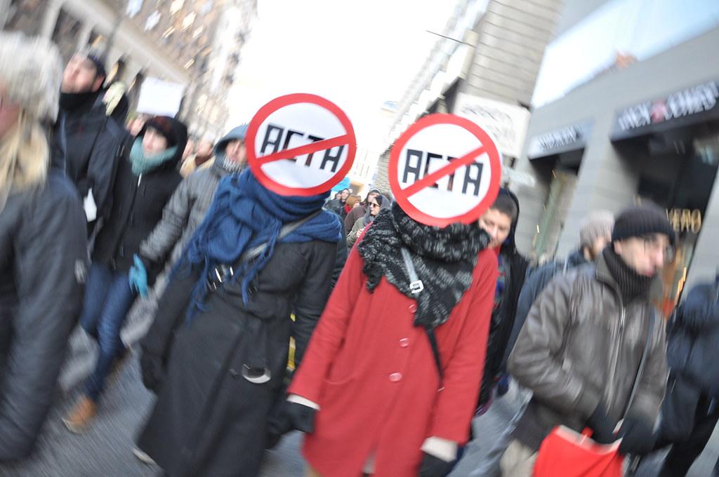ACTA-Demos von EU-Kommission ignoriert
