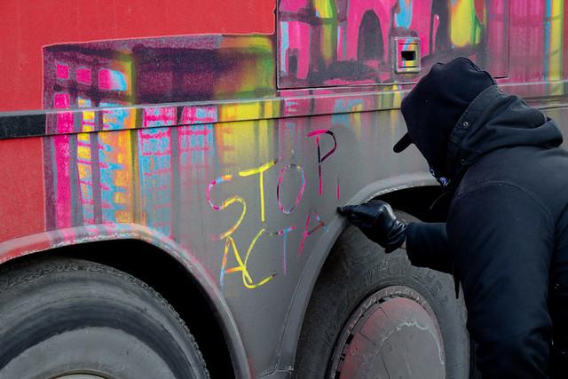 Proteste gegen ACTA - Berlin-16