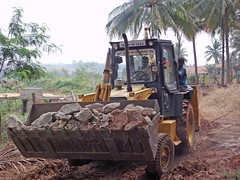 agriculture, soil, vehicle, construction equipment, bulldozer, land vehicle, tractor,