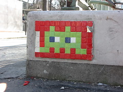 Space Invader PA_208 : Paris 14eme