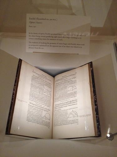 Euclid, Optica 1557