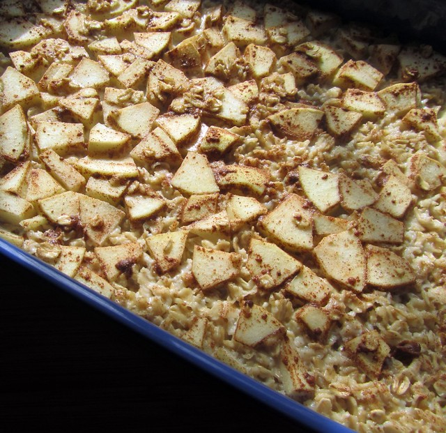 Baked Oatmeal, Baked | Old-fashioned oats, brown sugar, salt ...