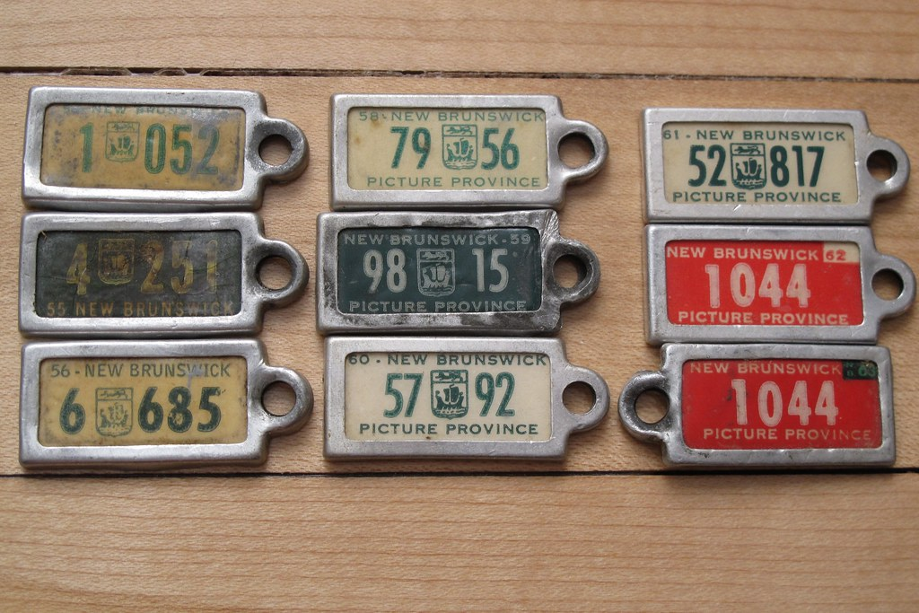 War Amps license plate key tags