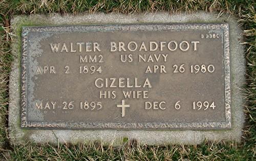 Walter Broadfoot by midgefrazel