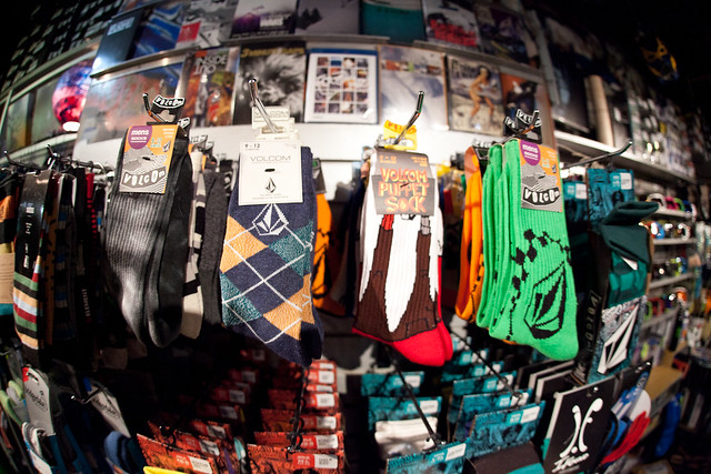 Socks at Evolution Whistler