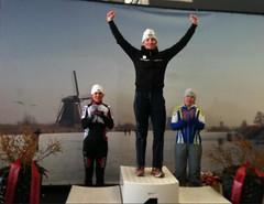 Renske Winters Nederlands kampioene 2012 masters Dames
