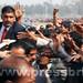 Rahul Gandhi's road show in Sultanpur, U.P (4)