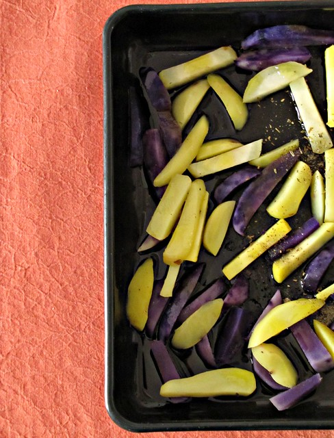 Patatine Finte Fritte e Finta Wiener Shnitzel