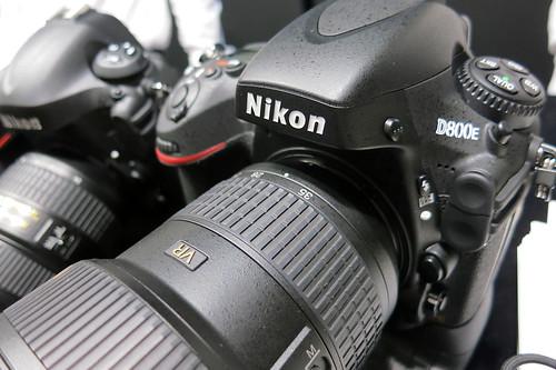 CP+2012 Nikon D4 D800E