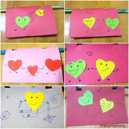 Homemade Valentines - Heart-y Friends