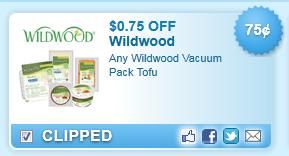 Wildwood Vacuum Pack Tofu Coupon