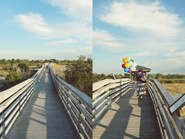 balloon shoot 8 diptych