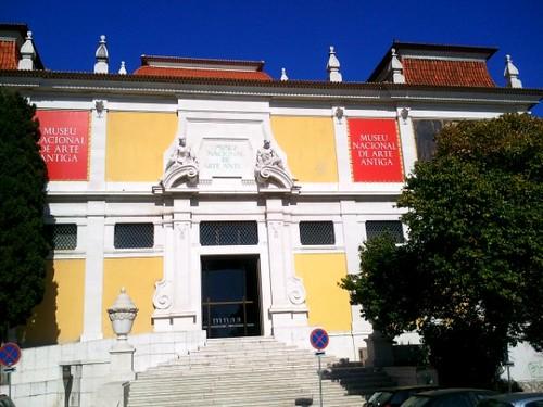 Exterior of Museu Nacional de Arte Antiga Lisbon