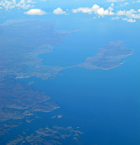 Stornoway, Lewis, aerial photo