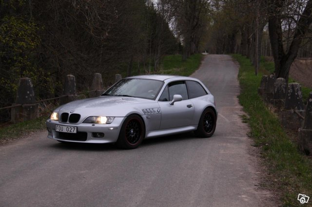 1999 Z3 Coupe | Arctic Silver | Black