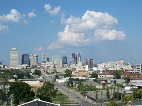 downtown Nashville (by: Dana Lane, creative commons license)