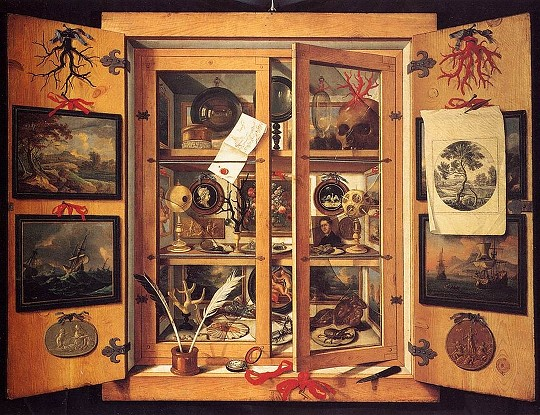 Musaeum Clausum, inventory of curiosities