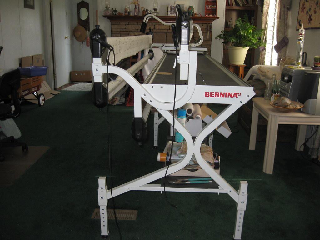Interesting Flickr photos tagged quiltframe | Picssr : bernina quilting frame - Adamdwight.com