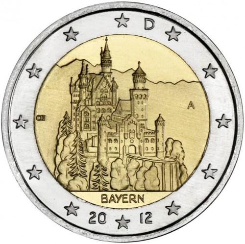 2 Euro Nemecko 2011 A, Spolková krajina Bavorsko