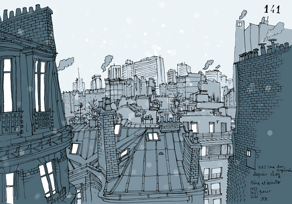 freezing paris