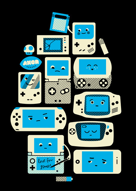 Love For Handhelds Poster | Flickr - Photo Sharing!