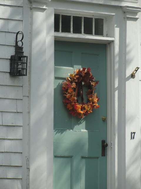 Front door on historic cape cod home flickr photo sharing for Cape cod front door styles