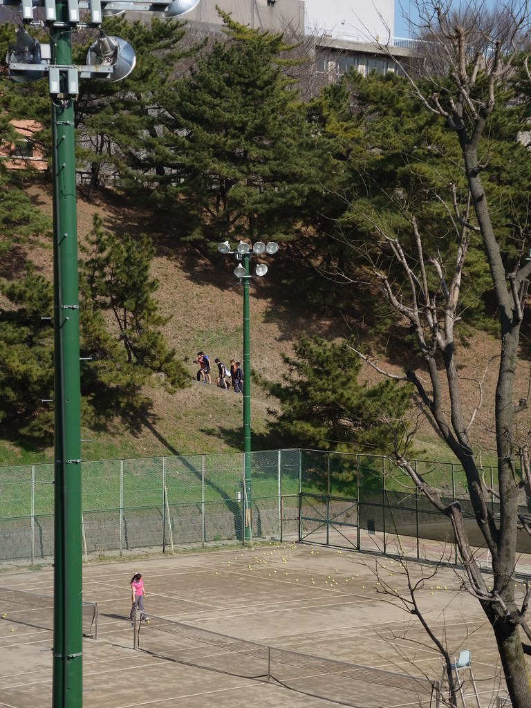 RICOH GXR A16 24-85mm F3.5-5.5 testshot at Yotsuya station