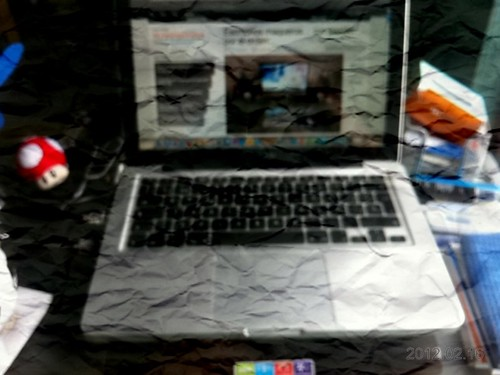 MacBook arrugado
