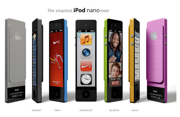 iPod Nano Touch Concept