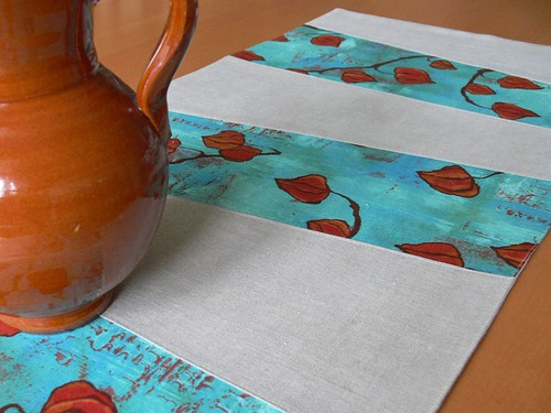Jenny: Wonky Stripes Table Runner